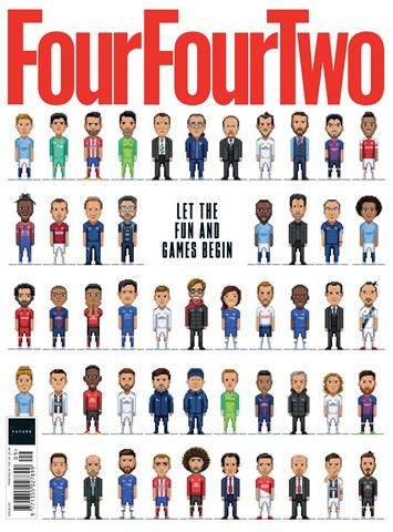 FourFourTwo issue September 2018