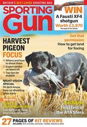 Sporting Gun issue September 2018