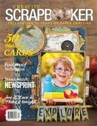Creative Scrapbooker issue Fall 2018