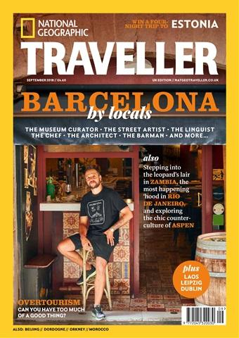 National Geographic Traveller (UK) issue September 2018
