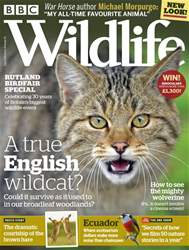BBC Wildlife Magazine issue August 2018