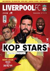 Liverpool FC Magazine issue Sep-18