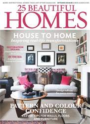 25 Beautiful Homes issue September 2018