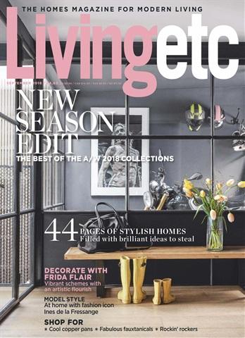Living Etc issue September 2018