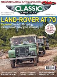 Classic & Sports Car issue September 2018