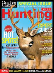 Hunting West 2018 issue Hunting West 2018