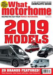 What Motorhome magazine issue 2019 Motorhomes - September 2018