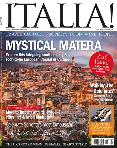 Italia! issue Sep-18