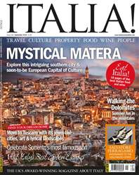 Italia! issue Sep-18