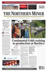 The Northern Miner issue Vol. 104 No. 16