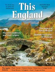 This England issue Autumn 2018