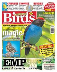 Cage & Aviary Birds Magazine Cover
