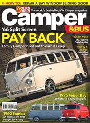 VW Camper issue September 2018