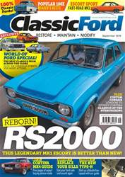 Classic Ford issue September 2018