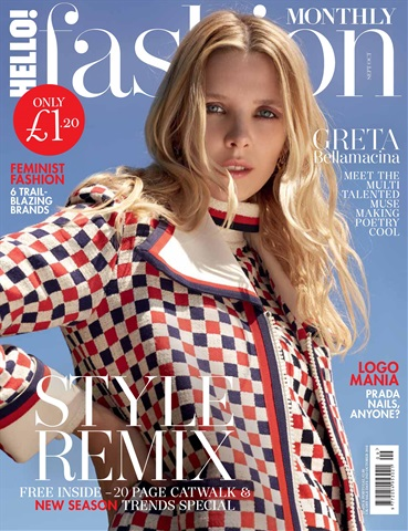 Hello! Fashion Monthly issue Sept/Oct 2018