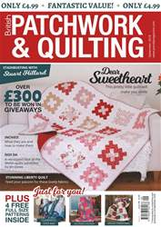 Patchwork and Quilting issue Sep-18