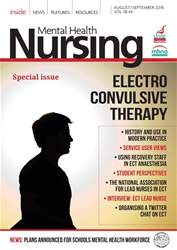 Mental Health Nursing issue Aug/Sept