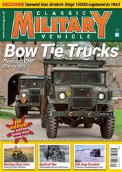 Classic Military Vehicle issue   September 2018
