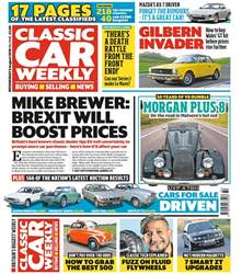 Classic Car Weekly issue 8th August 2018
