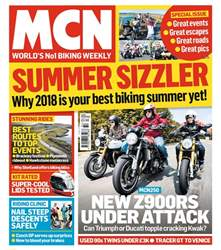 MCN issue 8th August 2018