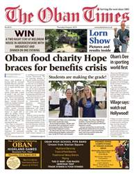 The Oban Times & Lochaber Times issue 9th August 2018