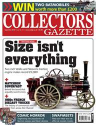 Collectors Gazette issue September 2018
