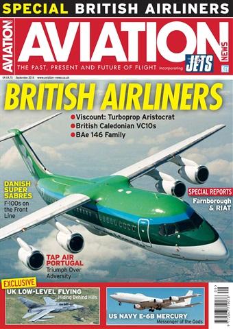 Aviation News incorporating JETS Magazine issue   September 2018