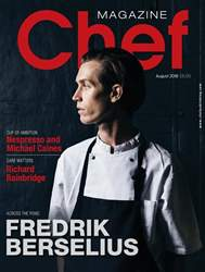 Chef Magazine issue August 2018