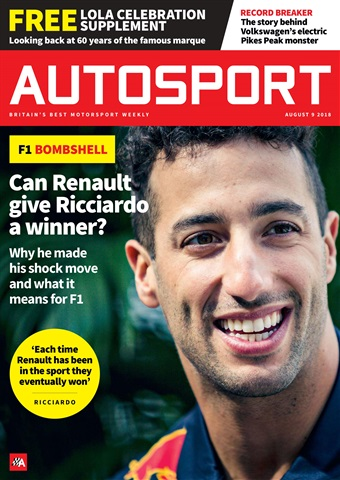 Autosport issue 9th August 2018
