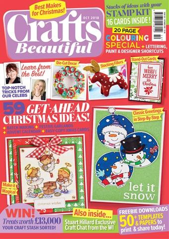 Crafts Beautiful issue Oct-18