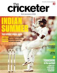 The Cricketer Magazine issue Summer 2018