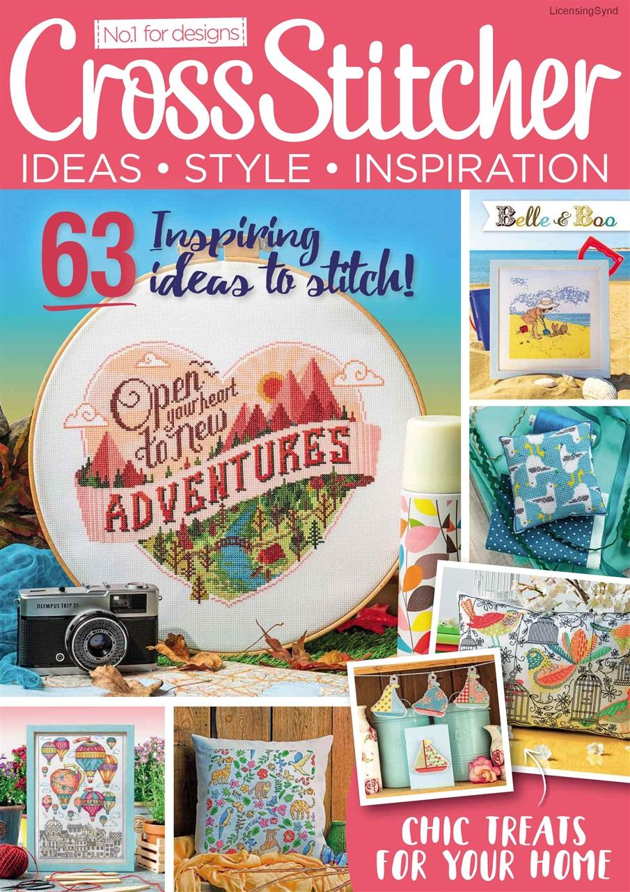 Crossstitcher Magazine September 2018 Subscriptions Pocketmags