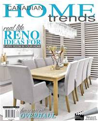 Canadian Home Trends issue Renovations 2018