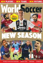 World Soccer issue August 2018