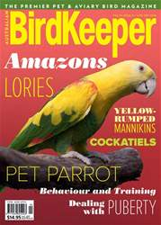 Australian Birdkeeper Magazine issue Vol 31 Iss 34