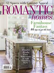 Romantic Homes issue September 2018