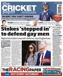 The Cricket Paper issue 10th August 2018