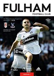 Fulham FC issue Fulham Vs Crystal Palace 2018/19