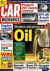 Car Mechanics issue September 2018