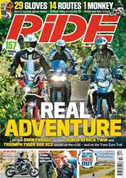 Ride issue October 2018