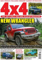 4x4 Magazine issue September 2018