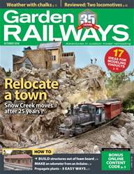 Garden Railways issue October 2018