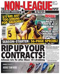 The Non-League Football Paper issue 12th August 2018