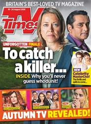 TV Times issue 18th August 2018