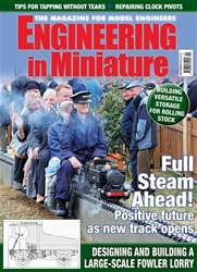 Engineering in Miniature issue September 2018