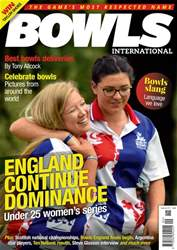 Bowls International issue   September 2018
