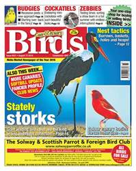 Cage & Aviary Birds issue 15th August 2018