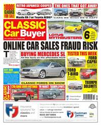 Classic Car Buyer issue 15th August 2018