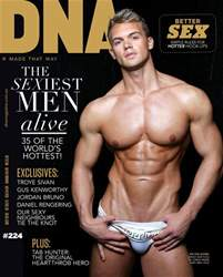 DNA Magazine issue DNA #224 | The Sexiest Men Alive 2018