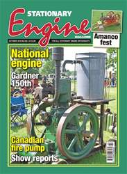 Stationary Engine issue October 2018
